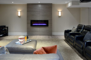 Basement Designs by Stella interiors